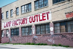 a lamp factory outlet store